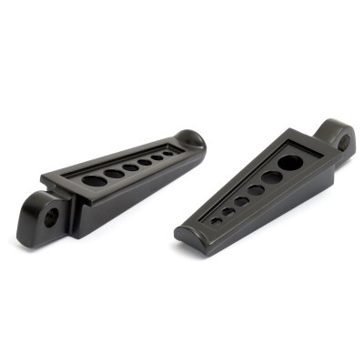 Footpegs ROCKET INC. Six Hole black